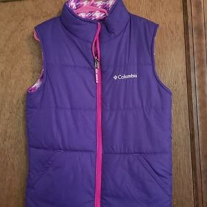 Columbia Reversable Puffy Vest